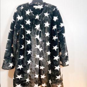 Ziggy Stardust Faux Fur Coat